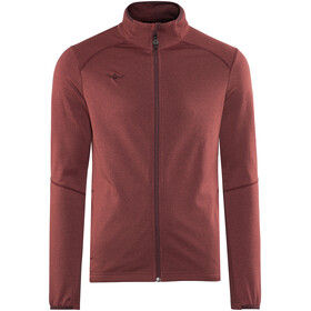 Kaikkialla Tarmo Wafflefleece Jacket Men Rust